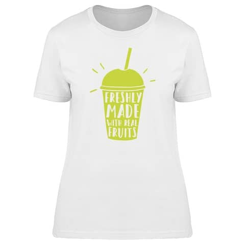 Real Fruits Fresh Smoothie Tee Women's -Image by Shutterstock