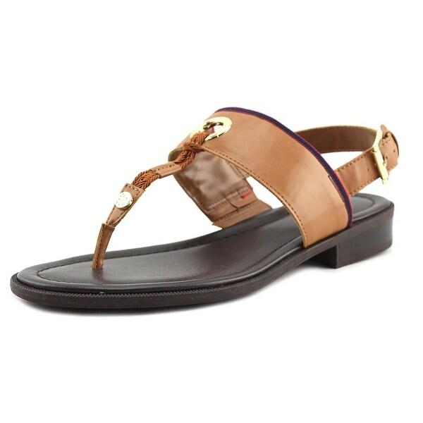 Tommy Hilfiger Dara 2 Women Open-Toe Synthetic Brown Slingback Sandal