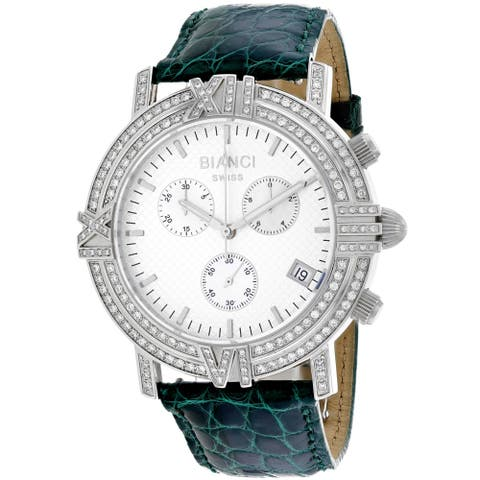 Roberto Bianci 1.72ct Diamonds Women's Medellin RB18502 Silver Dial watch
