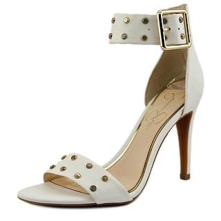 Jessica Simpson Elonna 2 Open-Toe Synthetic Heels