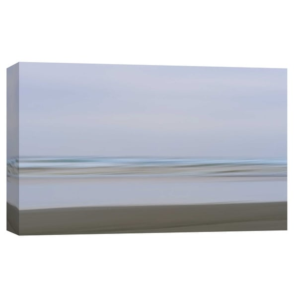 """PTM Images 9-101732 PTM Canvas Collection 8"""" x 10"""" - """"Ocean Beach Abstract 2, Copalis"""" Giclee Beaches Art Print on Canvas"""