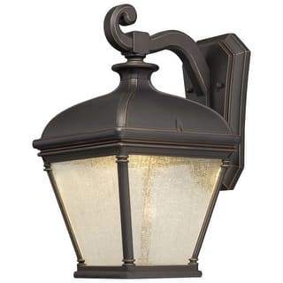 1 light the great outdoors outdoor lighting shop our best garden the great outdoors 72393 143c 1 light 1575 height led outdoor wall sconce from aloadofball Gallery