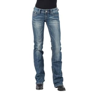 Tin Haul Western Jeans Womens Med Wash Dolly Fit 10-054-0340-1775 BU|https://ak1.ostkcdn.com/images/products/is/images/direct/a29f39bd060c5be10d72c08bd1908bb987eebcfa/Tin-Haul-Western-Jeans-Womens-Med-Wash-Dolly-Fit-10-054-0340-1775-BU.jpg?impolicy=medium