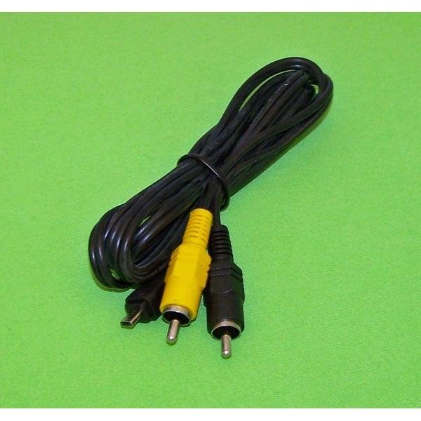 NEW OEM Sony Audio Video AV Cord Cable Originally Shipped With DSCW330/B, DSC-W330/B