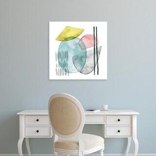 Easy Art Prints Grace Popp's 'Pastel Formation I' Premium Canvas Art