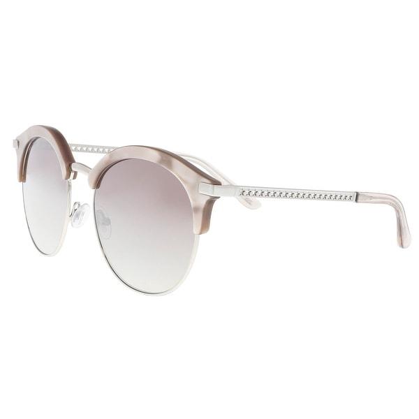 47694337f6e1 Shop Jimmy Choo HALLY S 0MVU Azure Cat eye Sunglasses - 55-19-140 - Free  Shipping Today - Overstock - 21874807