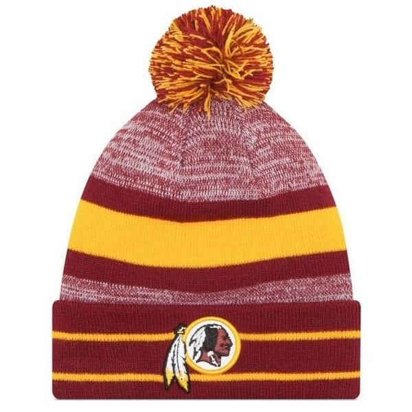 786afae5 New Era 2019 NFL Washington Redskins Cuff Pom Knit Hat Beanie Stocking  Winter