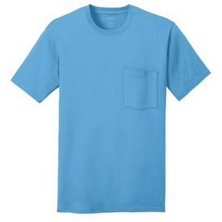 Port & Company 100% Cotton Pocket T-Shirt