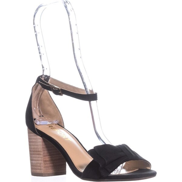 Report Pearlina Dress Sandals, Black - 6.5 us
