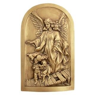 Design Toscano Angel of God Guardian Angel Wall Sculpture