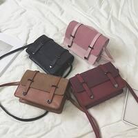 Fashion Women Scrub Crossbody Bag Coin Bag Phone Bag Shoulder Bag
