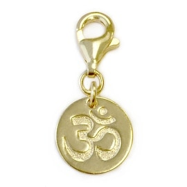 Julieta Jewelry Om Disc Clip-On Charm