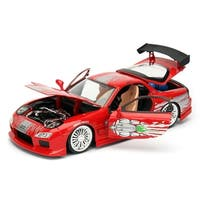 Fast & Furious 1:24 Diecast Vehicle: Dom's Mazda RX-7, Red - Multi