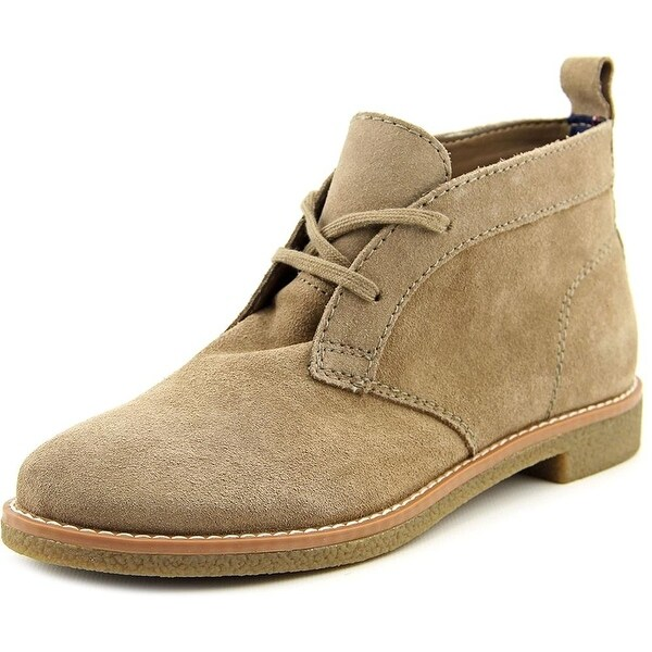 Tommy Hilfiger Womens Blaze Leather Closed Toe Ankle Fashion Boots