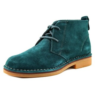 Hush Puppies Cyra Catelyn Round Toe Suede Ankle Boot