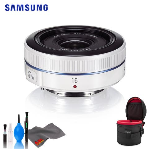 Samsung 16mm f/2.4 (White) - Standard Bundle