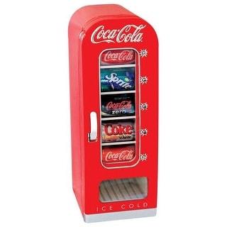 Koolatron CVF18 Coca Cola Retro 10 Can Vending Fridge