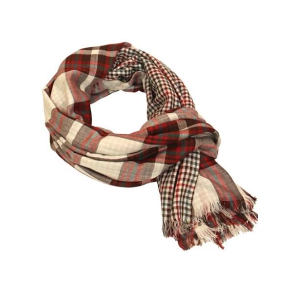 Indigo7 Authorized100% Viscose Multi colored scarf
