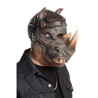 Rubies TMNT 2 Rocksteady Adult Mask - grey