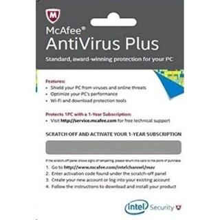 Intel BKCMAV1YRENG Mcafee Anti-Virus Plus Card