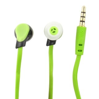 Unique Bargains Stereo in Ear Headphone Earphone Earbud with Microphone for Iphone Samsung Android Smartphone Computer