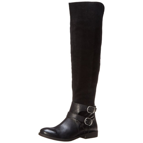 Lucky Brand Womens Zosha Closed Toe Knee High Fashion Boots
