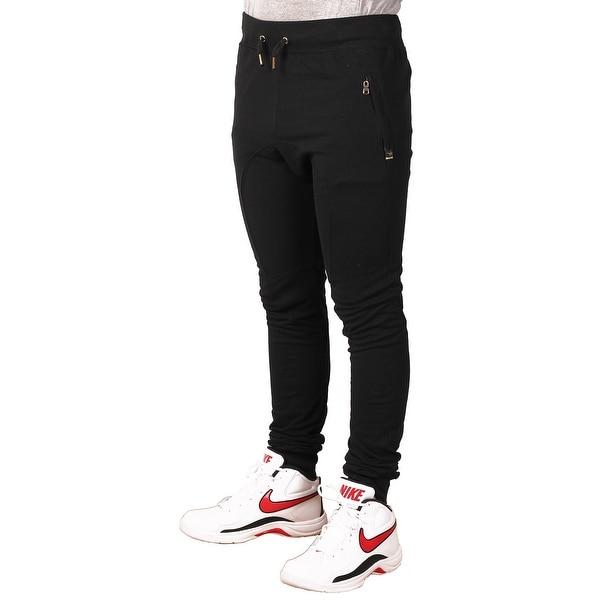 Maxi Milian Men's French Terry Skinny Jogger Pant