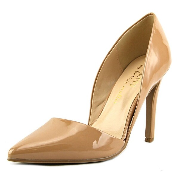 Ann Marino by Bettye Muller April Women Pointed Toe Patent Leather Nude Heels