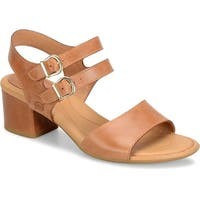 B.O.C Womens malang Leather Open Toe Casual Strappy Sandals