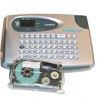 Casio KL60SRUST KL60SR Compact EZ-Label Maker 1/2 Labels