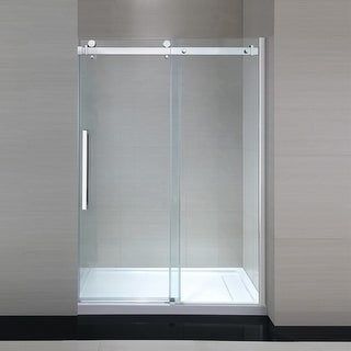 "Miseno MSDC4882NB 82-3/10"" High x 48"" Wide x 32"" Deep Frameless Shower Door for"