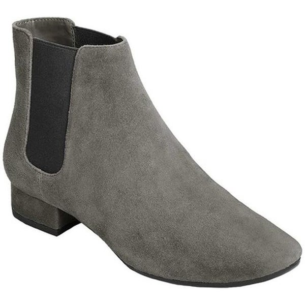 2a20d87f1ce8c Shop Aerosoles Women's Skyway Chelsea Boot Dark Gray Suede - Free ...