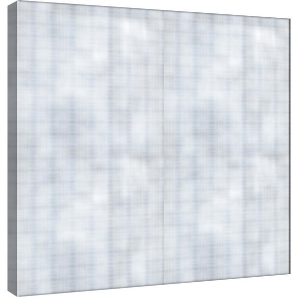 """PTM Images 9-100868 PTM Canvas Collection 12"""" x 12"""" - """"Sky Puzzle"""" Giclee Abstract Art Print on Canvas"""
