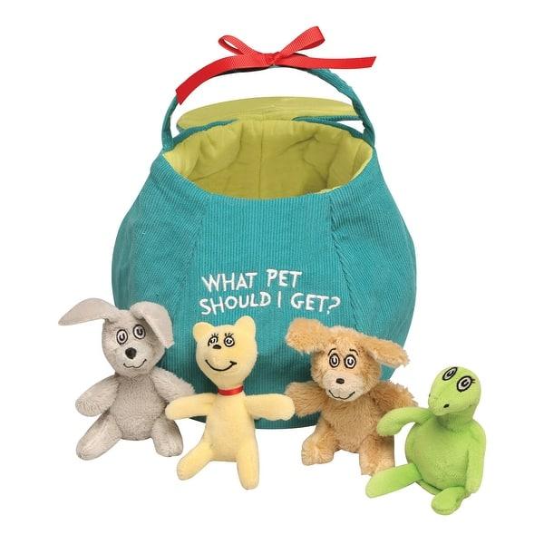 Set Of Dog Stuffed Animals, Shop Manhattan Toy Dr Seuss What Pet Should I Get Plush Stuffed Animal Set Overstock 29746289