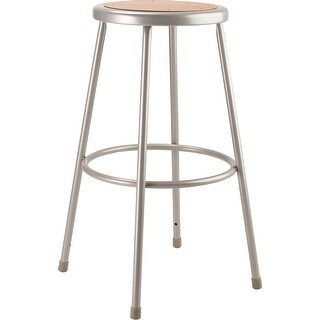"""Link to NPS 30"""" Heavy Duty Steel Stool, Grey Similar Items in Home Office Furniture"""