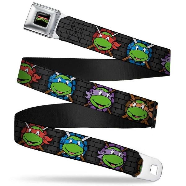 Classic Tmnt Logo Full Color Classic Teenage Mutant Ninja Turtles Seatbelt Belt