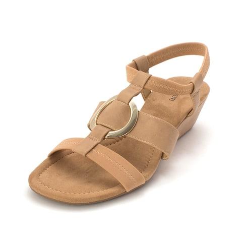 96954996c3 Buy Brown, Mid Heel Women's Sandals Online at Overstock   Our Best ...