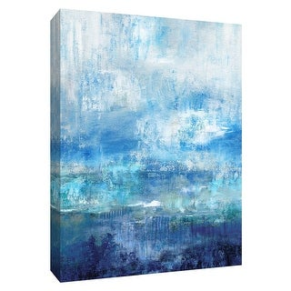 """PTM Images 9-148622  PTM Canvas Collection 10"""" x 8"""" - """"Morning Mist"""" Giclee Abstract Art Print on Canvas"""