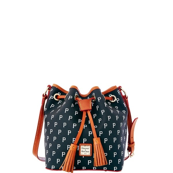 Dooney & Bourke MLB Pirates Kendall Crossbody (Introduced by Dooney & Bourke at $228 in Oct 2015) - Black
