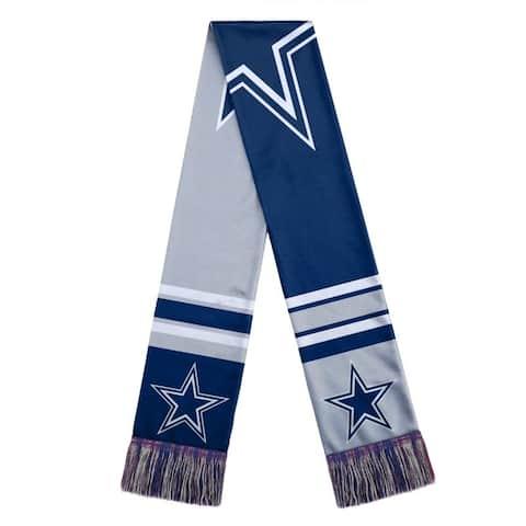 Dallas Cowboys Scarf Colorblock Big Logo Design