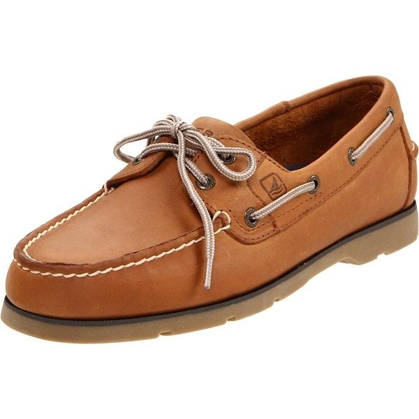Men's Leeward Boat Shoe Linen 10.5 W