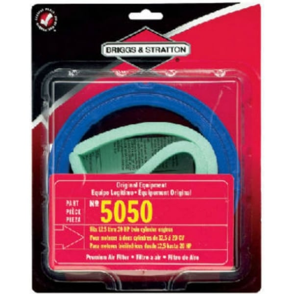 Briggs & Stratton 5050K Air Filter Cartridge with Pre-Cleaner