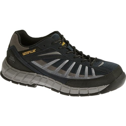 CAT Footwear Infrastructure Steel Toe - Navy 9(M) Infrastructure Steel Toe Mens Work Shoe