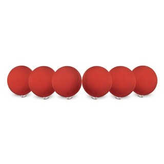 Handstands Red Cyber Gel Ball 6 Pack