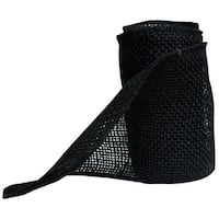 "Burlap Ribbon 6"" - Black"