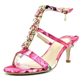 J. Renee Maricel Women W Open Toe Synthetic Pink Sandals