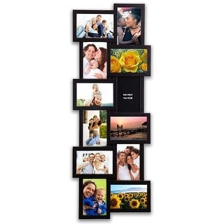 """Hello Laura -Gallery Collage Wall Hanging Photo Frame 4 x 6"""" Photo"""