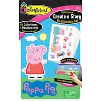 Peppa Pig - Colorforms(R) Create A Story Re-Stickable Sticker Set