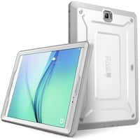 Galaxy Tab A 8.0 Case, Supcase, Unicorn Beetle Pro Series, Full-Body Protective Case with Screen Protector-White/Gray