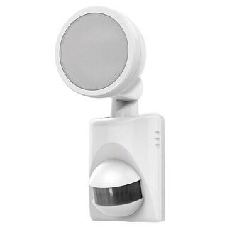 HeathCo HZ-5990-WH LED Single Head Security Light, White